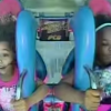 Two Girls Lose Their Damn Mind On Slingshot Ride