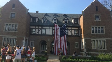 Having the biggest flag on campus. TFM.