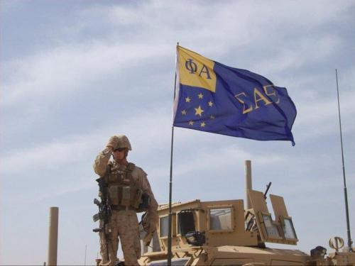 Protecting our country. TFM.
