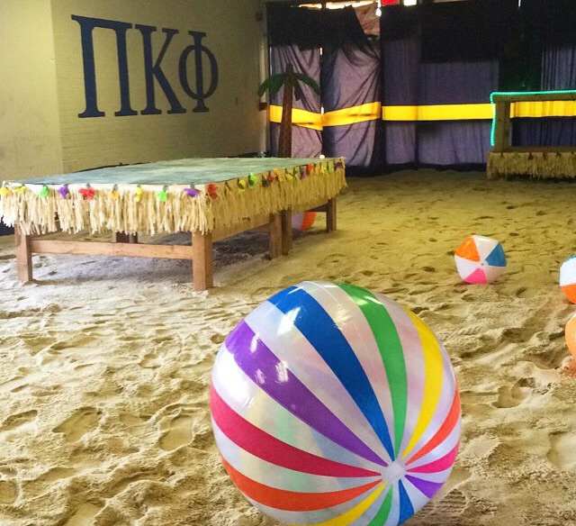 Bring the beach to your fraternity house. TFM.