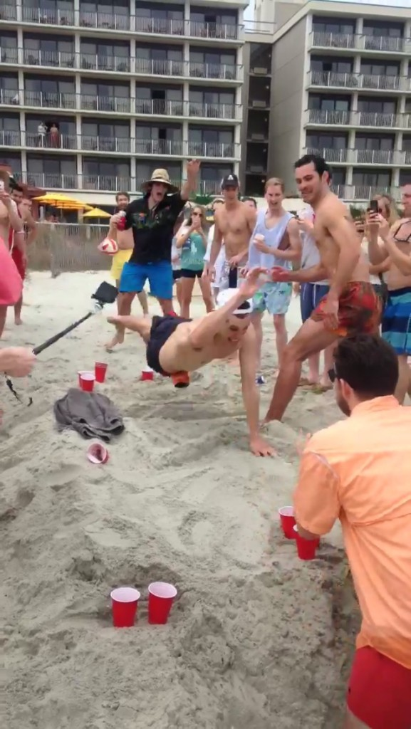 Leaving it all out on the sand. TFM.