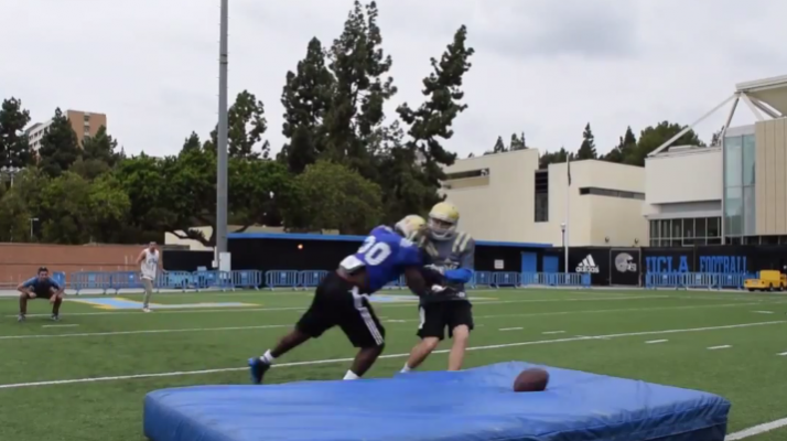 UCLA AEPi Gets Trucked By Former All-American Myles Jack To Get Your Vote