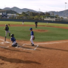 Kid Goes All Willie Mays Hayes, Hops Over Catcher To Score