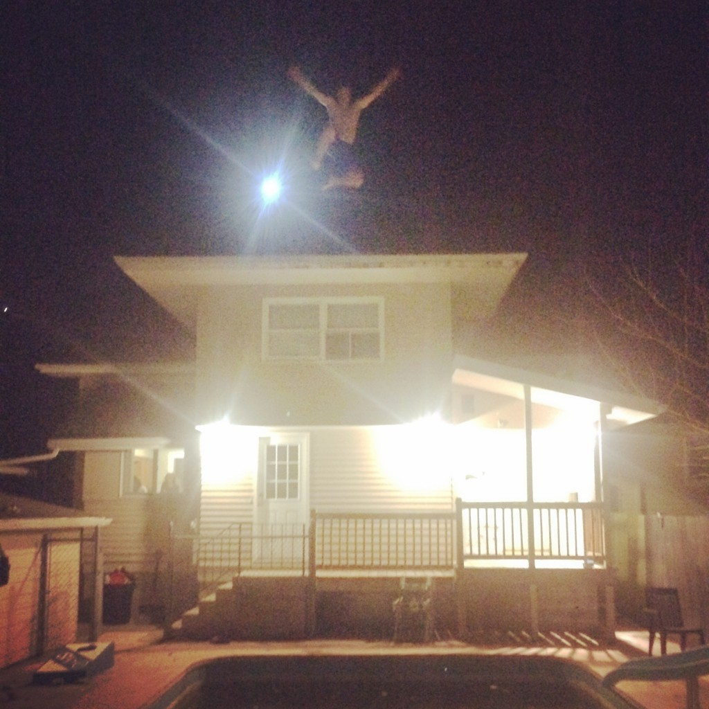 Roof jumps. TFM.