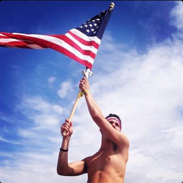 Loving your country. TFM.