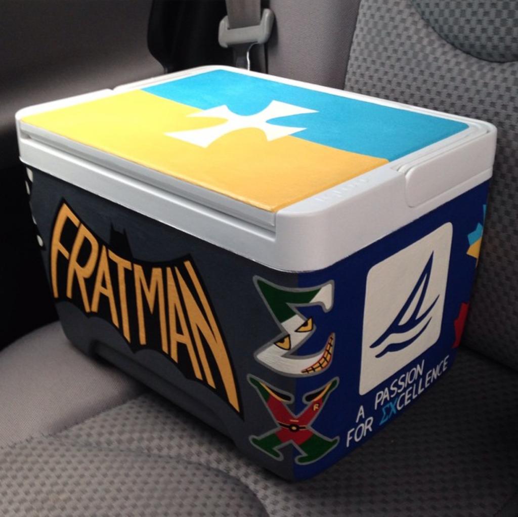 Fratman cooler. TFM.