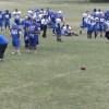 Dakota State Football Coaches Play Dizzy Punt During Spring Practice