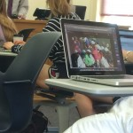 Not letting class get in the way of The Masters. TFM.