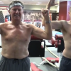Watch Steve Spurrier Just Kicking This Reporter's Ass While Working Out