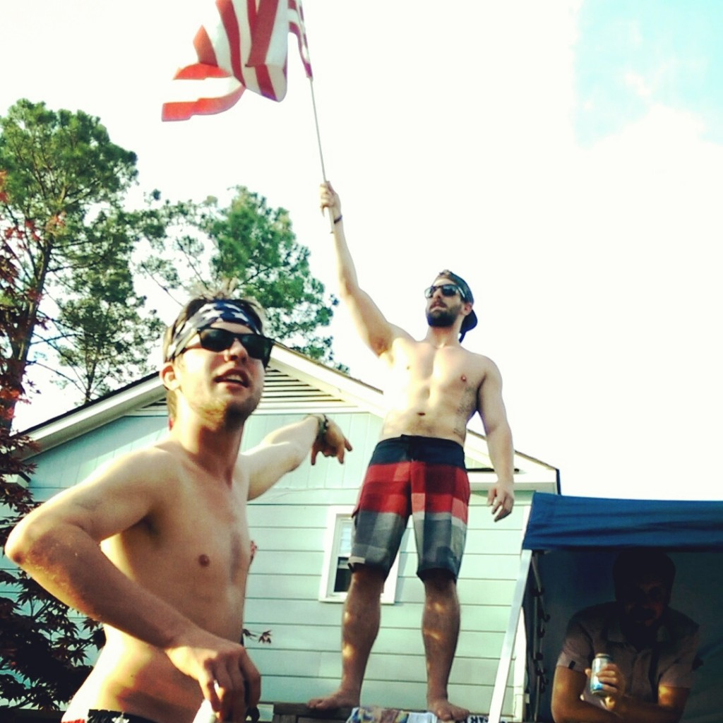 Having pride in your country. TFM.