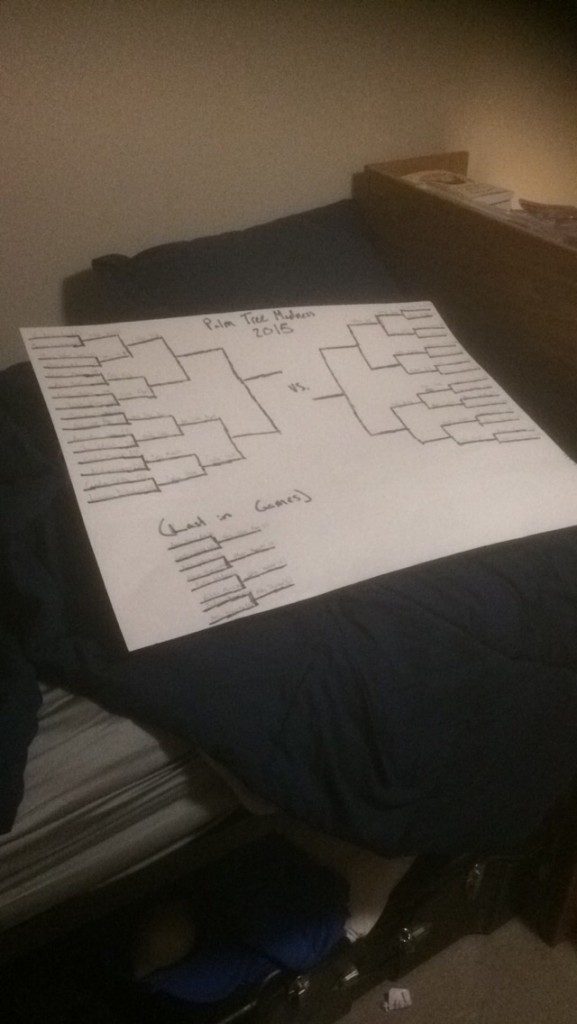 Making a bracket to see who the hottest girl at your school is. TFM.