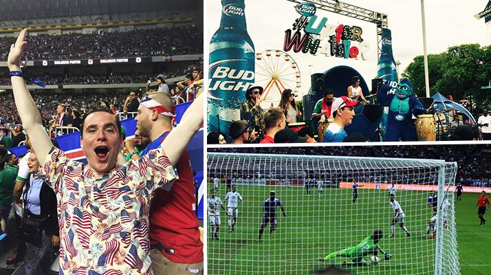 USA Mexico Soccer Bud Light Dos a Cero