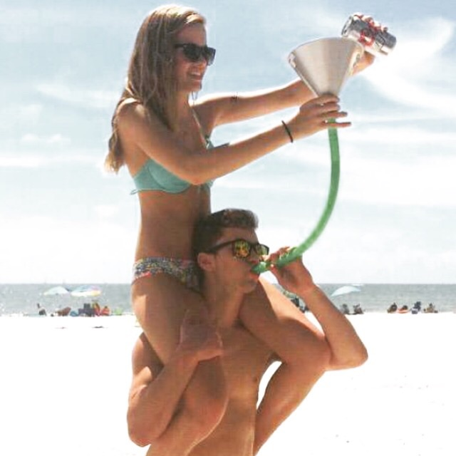 Having your slam pour your beer. TFM.