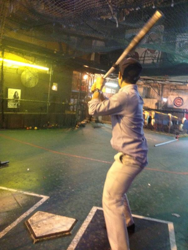 Indoor baseball. TFM.