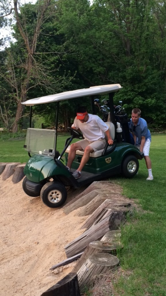 Beers getting the best of your round. TFM.