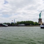 The Freedom Tower and Lady Liberty. TFM.