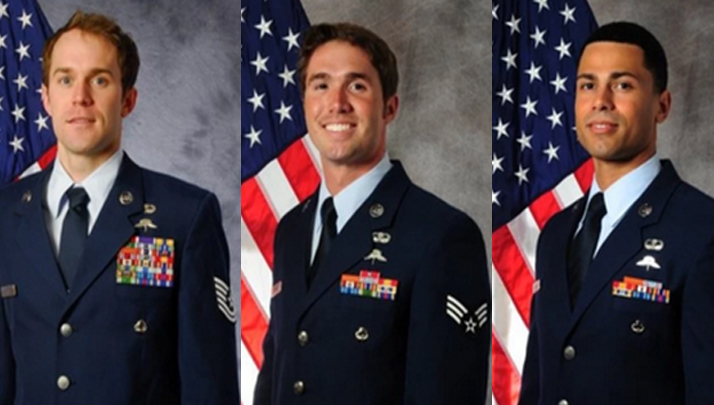 Three U.S Airmen Given Valor Awards For Heroic Actions In Afghanistan