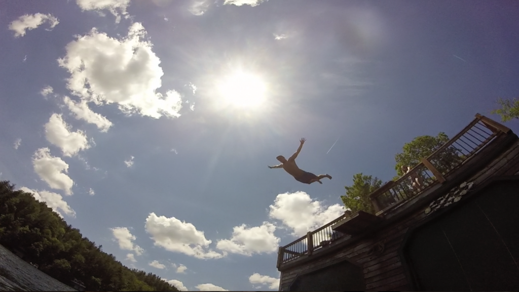 Memorial Day high dive. TFM.