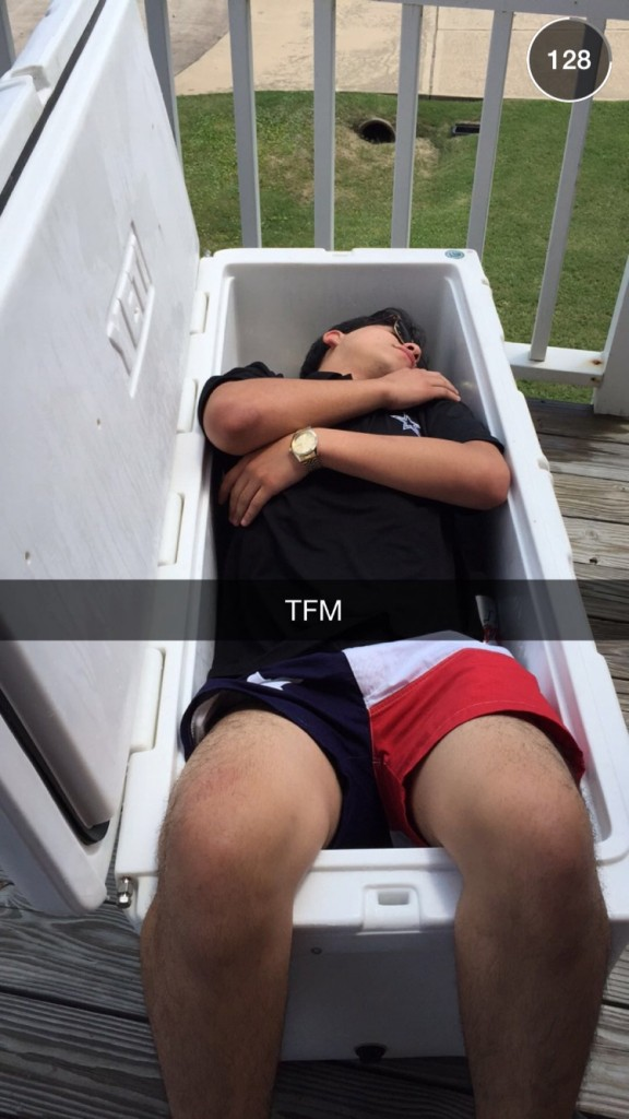 Sleeping in a YETI. TFM.