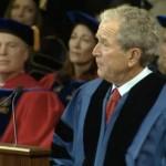 George W. Bush Cracks Jokes, Gives Amazing Commencement Speech At SMU