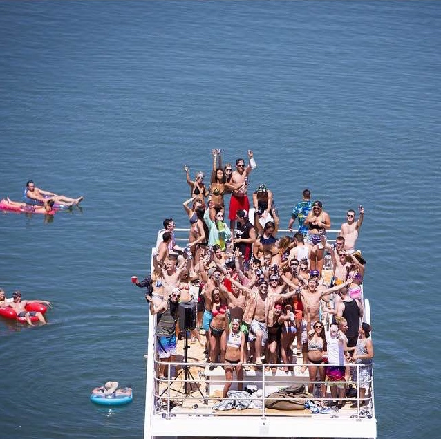 Houseboat parties. TFM.
