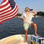 Having an American day on the boat. TFM.
