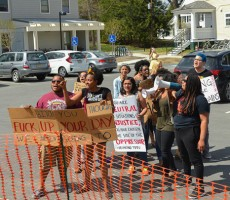 Dartmouth Baltimore Protesters Protest Fraternities And Sororities For Being Part Of The Problem