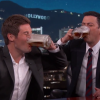 Workaholics' Adam Levine Talks About When He Called In Drunk To Work, Chugs Beers With Kimmel
