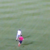 Fan Rushes Field, Outruns Security And Somersaults Into Home Plate
