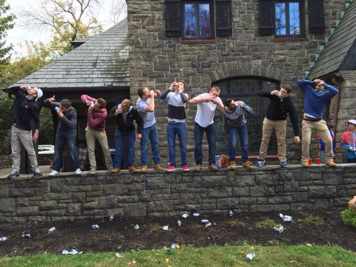 Ending the year with the same degenerates you started with. TFM.