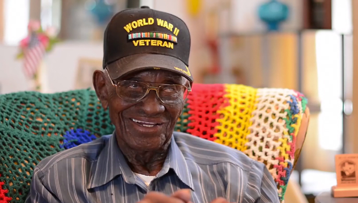 WWII Veteran Who Drinks Whiskey And Smokes Cigars Turning 109