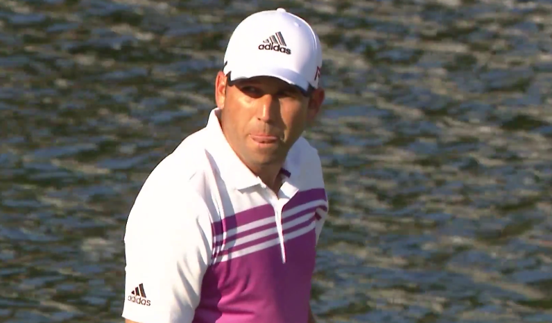 "Fans Heckled Sergio Garcia By Chanting ""U-S-A!"" During Sunday's Playoff"