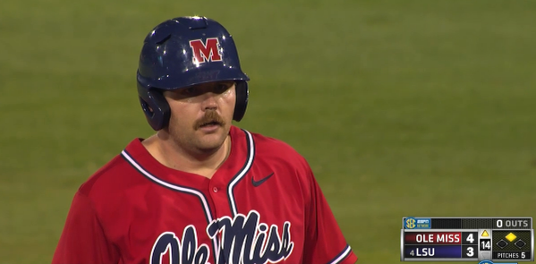 Sikes Orvis's mustache. TFM.