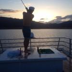 Houseboat golf. TFM.