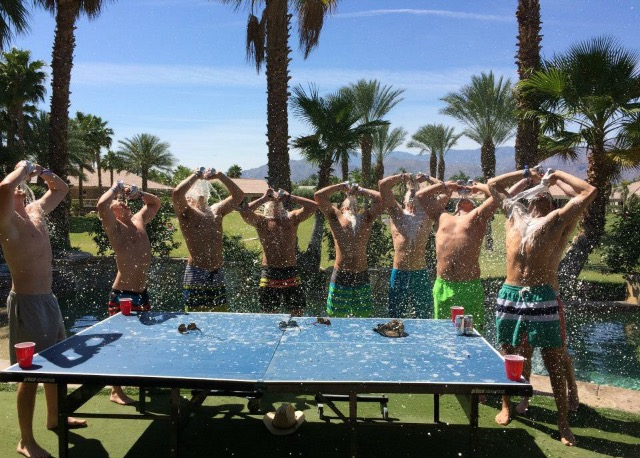 Ringing in summer with a group chug. TFM.