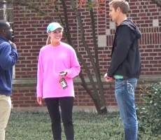 Guy Tries To Hook Up Random College Students And It Gets Awkward Fast