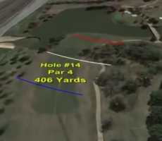 Flooding Causes Byron To Play Par-4 14th Hole At 100 Yards, Every Golfer's Dream