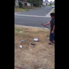 Dad Of The Year Makes Son Take Sledge Hammer To His Xbox For Getting Bad Grades
