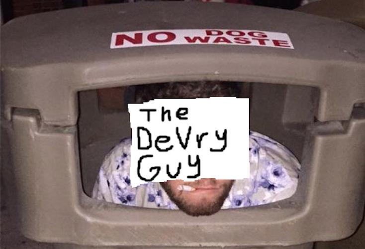 DeVry Trashcan