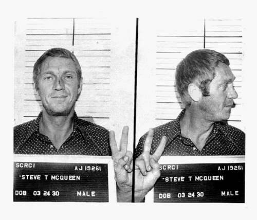 Steve McQueen keeping the party alive even after it's been stopped. TFM.