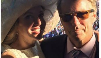 Rand Paul taking his hot wife to the Kentucky Derby. TFM.