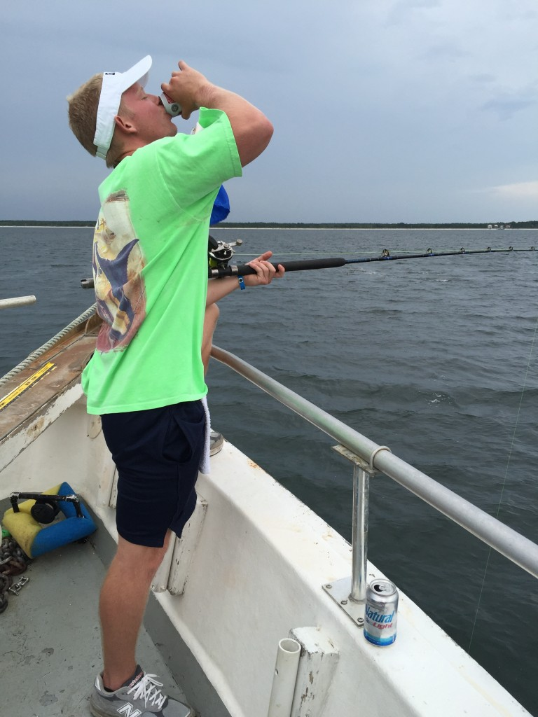 Shark fishing. TFM.