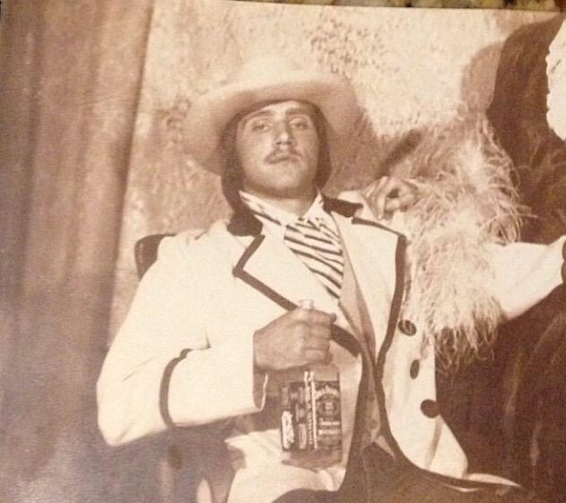 Pops on his wedding day. TFM.