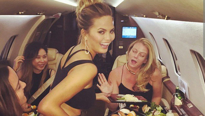 Chrissy Teigen's Naked Titties Might Cause Instagram To Explode