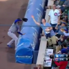 Father Of The Year Steals Foul Ball With One Hand, Feeds Baby With The Other