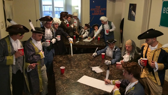 The Founding Fathers Make Us Look Like Pussies, Drank Three Times More