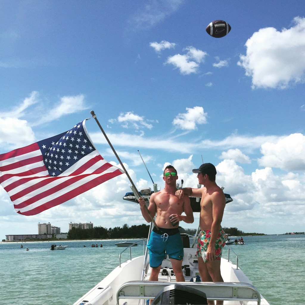 America, beer, and football. TFM.