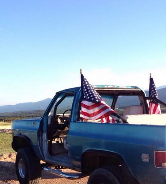 "The ""Freedom Wagon."" TFM."