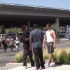 Guy Gets Knocked Out Cold Pranking Guys In The Hood That He Wants To Fight