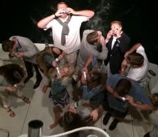 Booze cruise shotgun to start off summer. TFM.